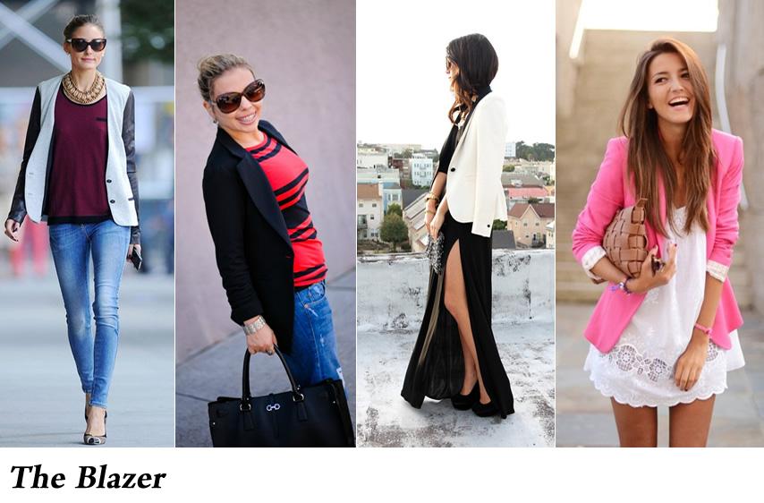 The blazer