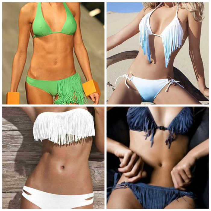 bikini de franja