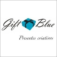 gift blue presentes criativos