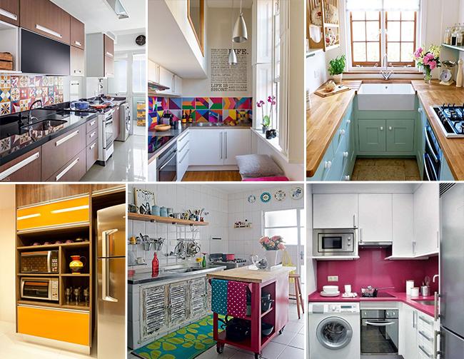 Cozinhas Pequenas - Cbblogers - Blog Rabiscando