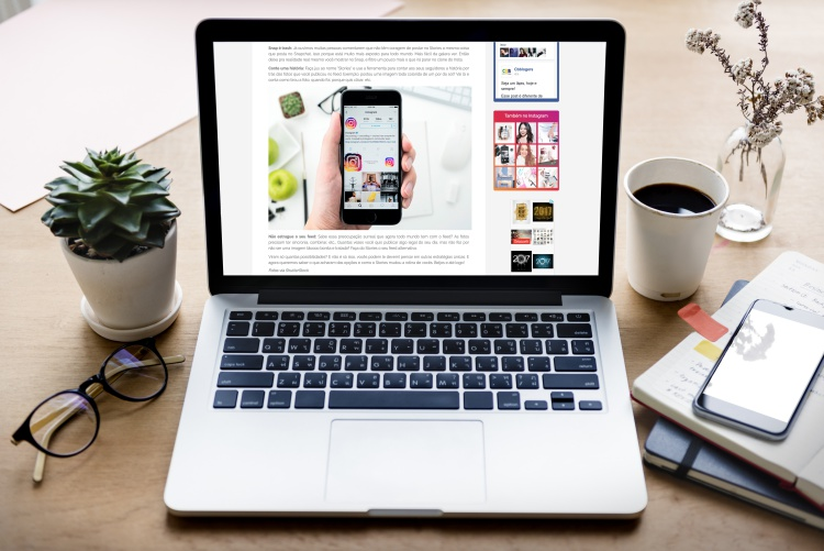 layout blog