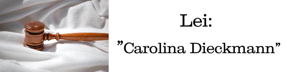 Lei 'Carolina Dieckmann' pune crimes virtuais
