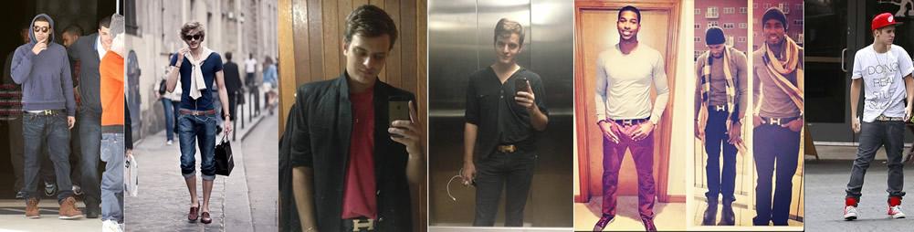 Trend Alert: Male Style com Cinto Hermès