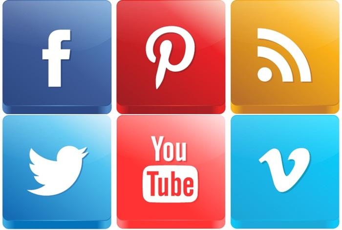 Icones de Redes Sociais cbblogers mundo do blog dicas tech