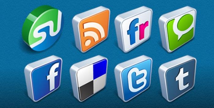Icones, Redes Sociais, CBBlogers