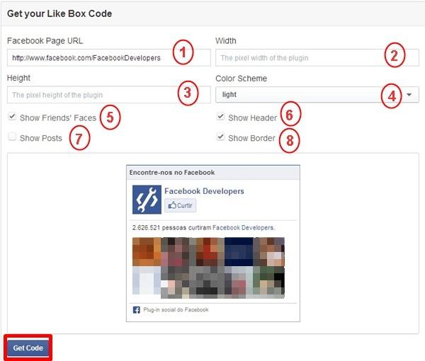 Como colocar o Like Box do Facebook no Blog