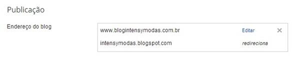 Domínio, Blogger, CBBlogers