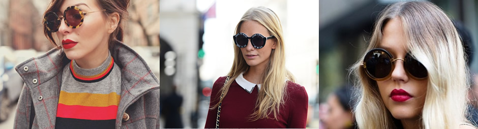 Fashion Friday: óculos redondo