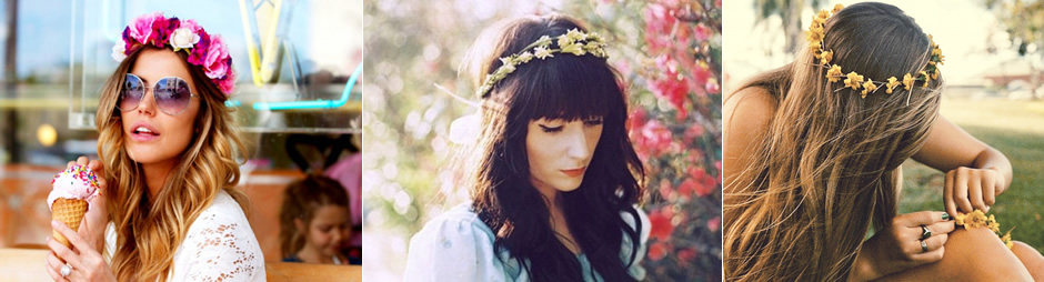 Fashion Friday: tiara de flores