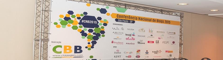 Agradecimentos Patrocinadores e Apoiadores da #CNB2015
