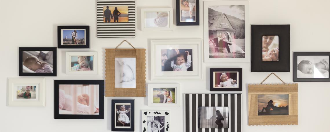 5 Dicas práticas para decorar com fotos