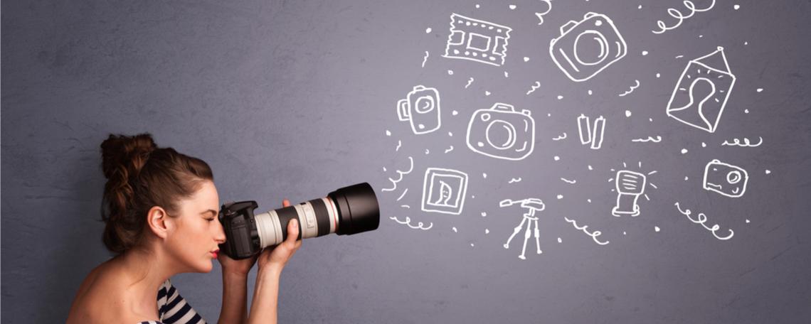 A Importância das fotos no seu conteúdo