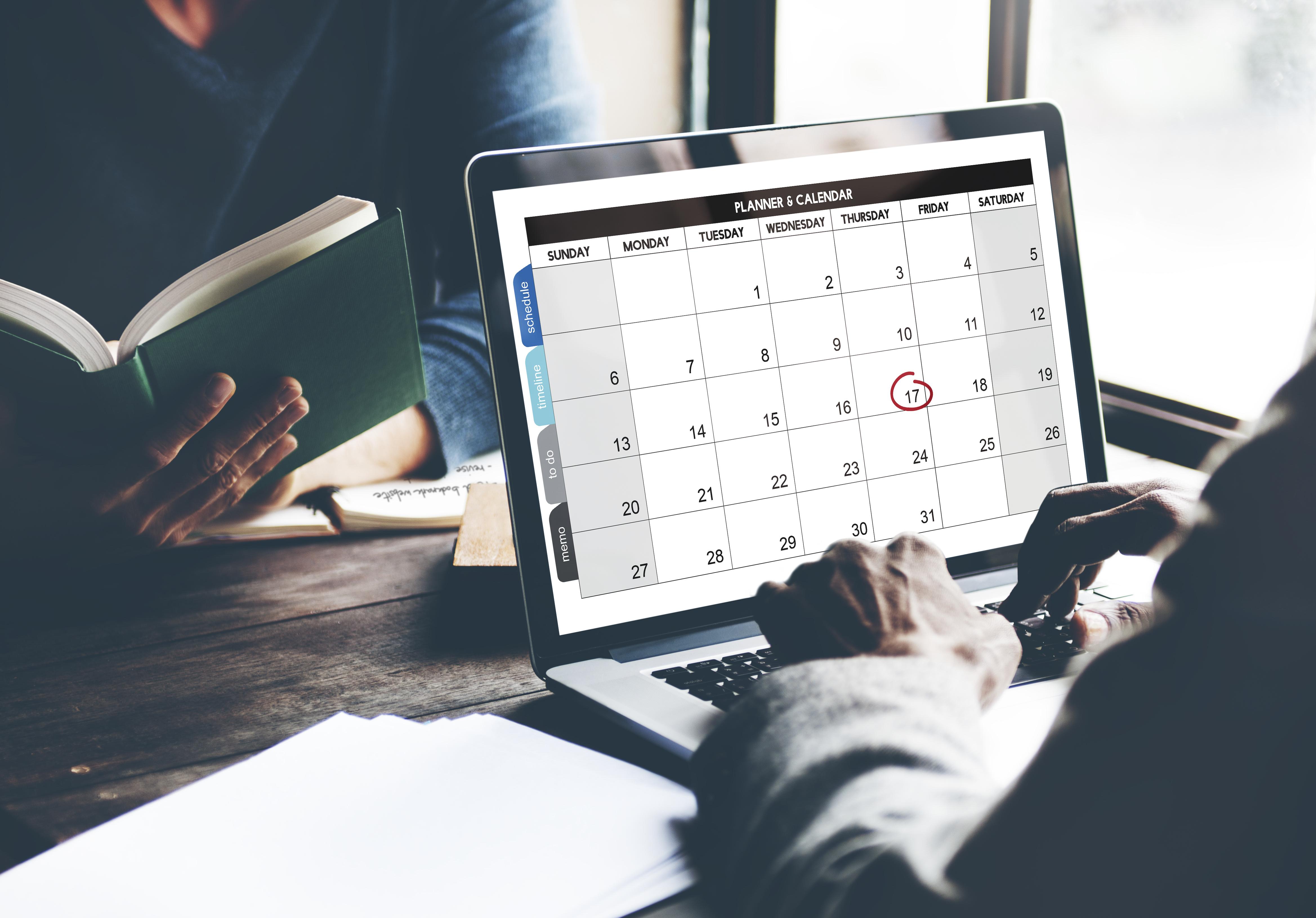 Organize o seu trabalho com a Google Agenda
